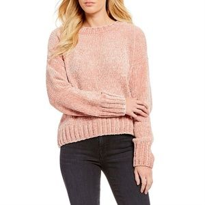 💕Anthropologie💕 Chenille Pink Pullover Sweater